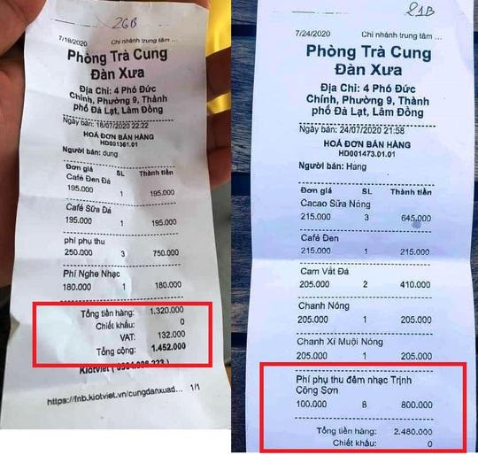 Kết quả kiểm tra phòng trà Cung Đàn Xưa ở Đà Lạt bị tố chặt chém - Ảnh 1.