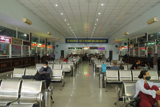 Đà Nẵng: Không thiếu vé tàu, xe cho du khách rời thành phố - Ảnh 4.