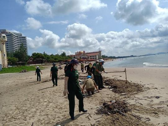 Cận cảnh 800 người  giải cứu bãi biển Vũng Tàu - Ảnh 3.