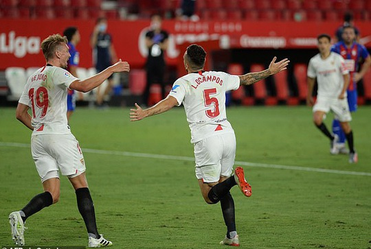 Ghi bàn và cứu thua, Lucas Ocampos sắm vai người hùng Sevilla - Ảnh 3.