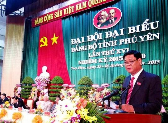 Bí thư Tỉnh ủy Phú Yên được điều động về Trung ương - Ảnh 1.