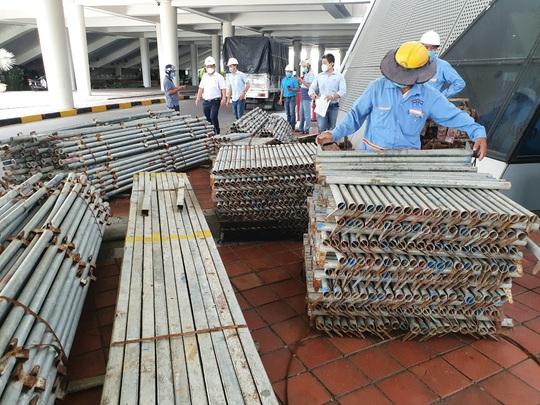 Tiến hành lắp đặt bệnh viện dã chiến Covid-19 hơn 94.000m2 ở Đà Nẵng - Ảnh 4.