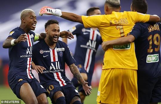 PSG thắng luân lưu nghẹt thở, Neymar giành cú ăn 4 cực đỉnh - Ảnh 7.