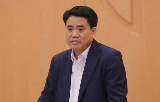 Ông Nguyễn Đức Chung bị khởi tố, bắt tạm giam - Ảnh 1.