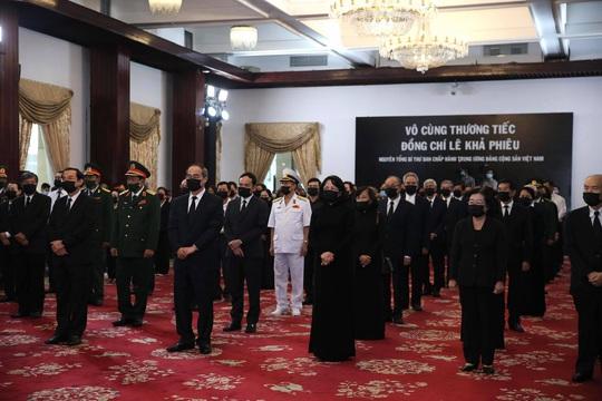 Lễ truy điệu nguyên Tổng Bí thư Lê Khả Phiêu tại TP HCM - Ảnh 1.