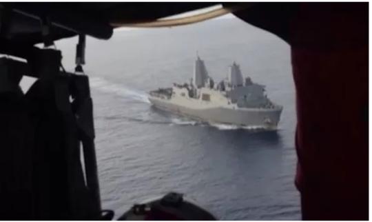 Máy bay trinh sát Mỹ thách thức tàu Trung Quốc ở biển Đông - Ảnh 2.