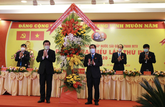 Ông Dương Hồng Nhân tái đắc cử Bí thư Đảng uỷ SAWACO  - Ảnh 1.