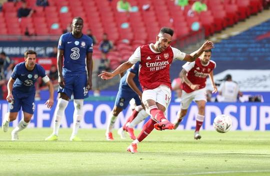 Người hùng Aubameyang rực sáng, Arsenal lên ngôi vô địch FA Cup - Ảnh 4.
