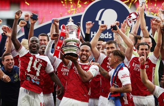 Người hùng Aubameyang rực sáng, Arsenal lên ngôi vô địch FA Cup - Ảnh 8.