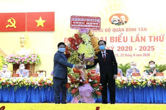Đại hội Đại biểu Đảng bộ quận Bình Tân đề ra nhiều mục tiêu cho nhiệm kỳ mới - Ảnh 1.