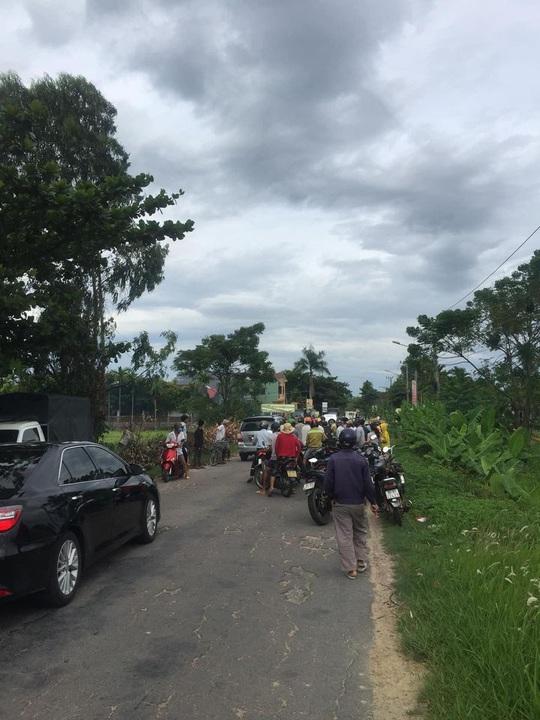 Quảng Nam: Cô gái đi xe máy gục chết sau tiếng nổ lớn phát ra từ đống rác - Ảnh 3.
