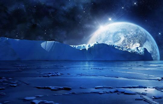 Có một hành tinh tuyết từng tồn tại ngay cạnh Trái Đất - Ảnh 1.