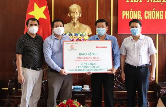 Bí thư Quảng Nam gửi thư cảm ơn các tổ chức, đơn vị hỗ trợ chống dịch Covid-19 - Ảnh 1.