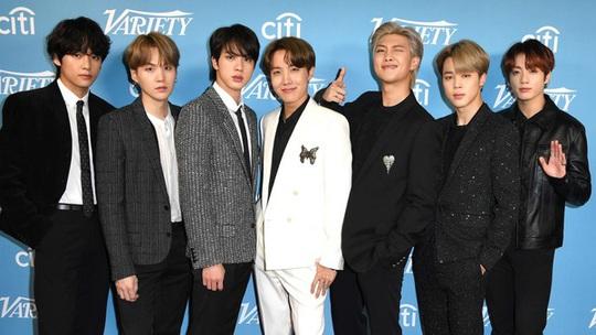 Nhóm nhạc mỹ nam BTS chạm vị trí số 1 trên bảng xếp hạng Billboard Hot 100 - Ảnh 4.