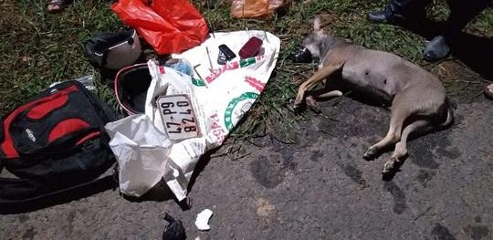 Người dân vây bắt, đánh bầm dập đối tượng trộm chó - Ảnh 2.