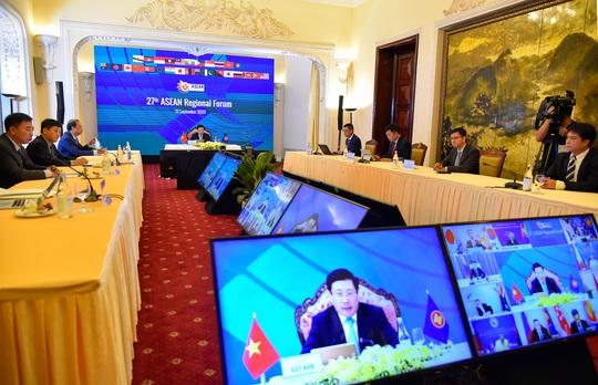 Diễn đàn ARF: Việt Nam nhấn mạnh yêu cầu thượng tôn pháp luật ở Biển Đông - Ảnh 3.