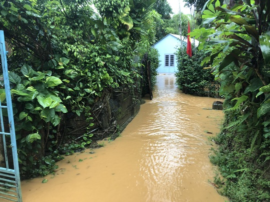 VIDEO: Thót tim cảnh giải cứu 9 người dân giữa dòng nước dữ ở Quảng Nam - Ảnh 11.