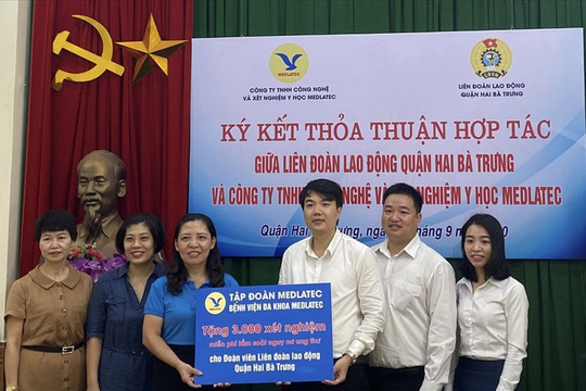 Hà Nội: Chăm lo sức khỏe đoàn viên - lao động - Ảnh 1.
