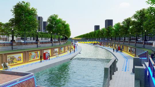 Công ty Nhật Việt nói cải tạo sông Tô Lịch miễn phí vì tình cảm - Ảnh 1.