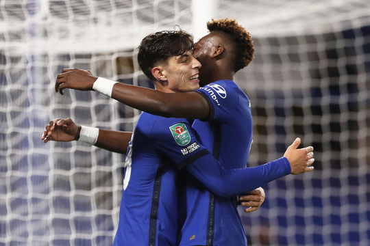 Bom tấn Kai Havertz lập hat-trick, Chelsea bùng nổ League Cup - Ảnh 5.