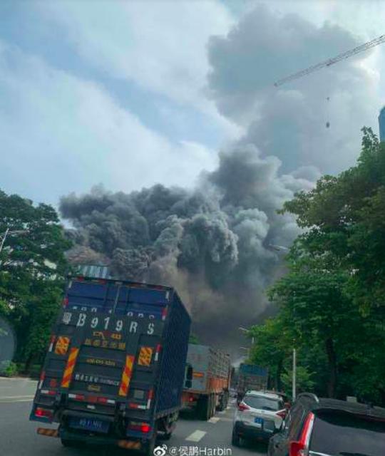 Trung Quốc: Cháy lớn tại trung tâm nghiên cứu của Huawei - Ảnh 3.