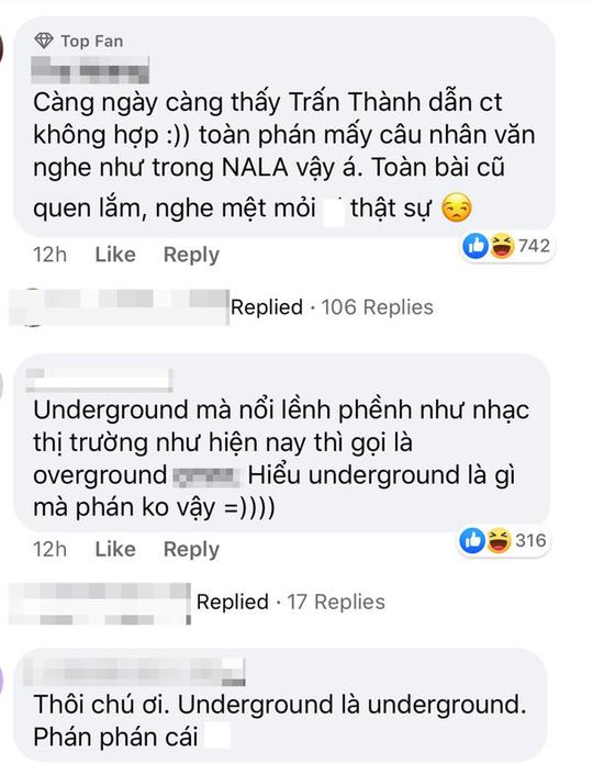 Trấn Thành lại gây tranh cãi ở Rap Việt - Ảnh 4.
