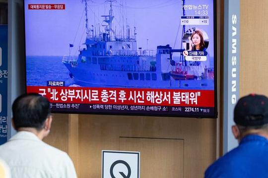 Triều Tiên cảnh báo Hàn Quốc sau vụ quan chức bị bắn chết trên biển - Ảnh 2.