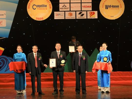 Công ty Sonadezi lọt vào top 50 Nhãn hiệu nổi tiếng Việt Nam năm 2020 - Ảnh 1.
