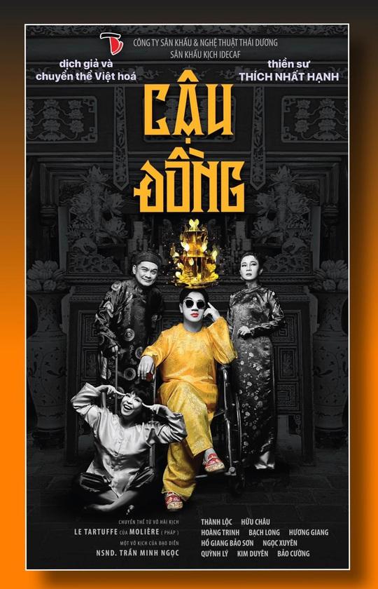 NSƯT Thành Lộc công bố kịch Cậu đồng của Thiền sư Thích Nhất Hạnh - Ảnh 3.