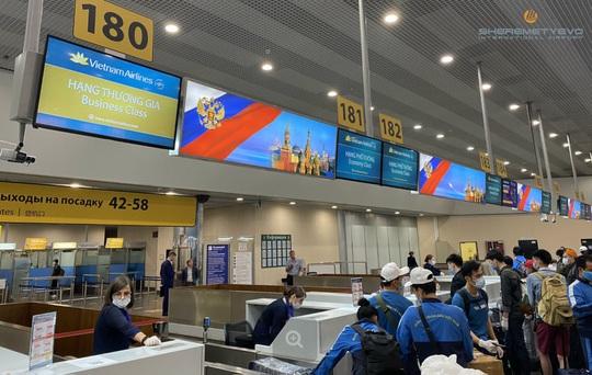 Hình ảnh đoàn thể thao Việt Nam dự Army Games tại Nga về nước - Ảnh 4.