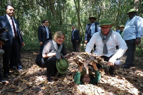 UBND TP HCM xin ý kiến Bộ Quốc phòng về Di tích lịch sử địa đạo Củ Chi - Ảnh 1.