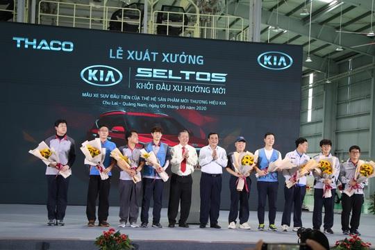 Thaco xuất xưởng xe Kia Seltos giá từ 599 đến 719 triệu đồng - Ảnh 7.