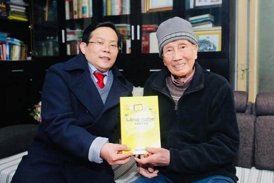 Mai Vàng nhân ái thăm nhạc sĩ Phạm Tuyên trước sinh nhật tuổi 91 - Ảnh 4.