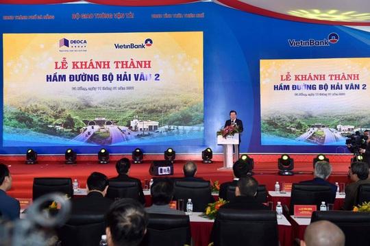 Khánh thành hầm đường bộ Hải Vân 2 dài nhất Đông Nam Á - Ảnh 4.