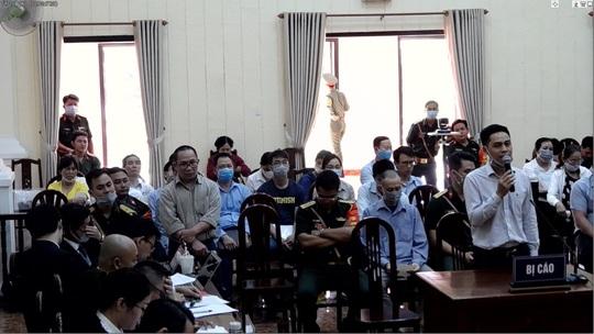Đồng phạm phản bác Lê Quang Hiếu Hùng tại Tòa án Quân sự Quân khu 7 - Ảnh 1.