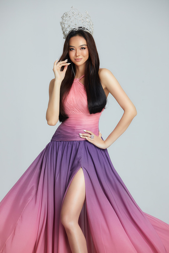 Hoa hậu Kiều Ngân tung bộ ảnh sexy - Ảnh 1.