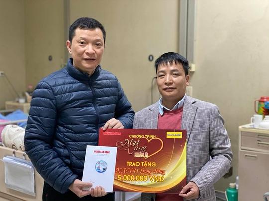 Mai vàng nhân ái thăm nhà thơ Trúc Thông và nhạc sĩ Trọng Bằng - Ảnh 4.