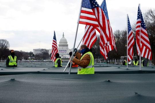 Phóng sự ảnh: Thủ đô Washington của Mỹ trước giờ chuyển giao quyền lực - Ảnh 8.