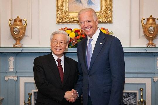 Lãnh đạo Việt Nam chúc mừng ông Biden nhậm chức Tổng thống Mỹ - Ảnh 1.