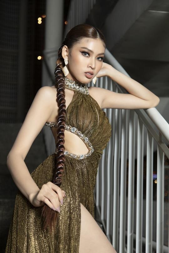 Cận cảnh nhan sắc Á hậu Ngọc Thảo - đại diện Việt Nam thi Miss Grand International - Ảnh 11.