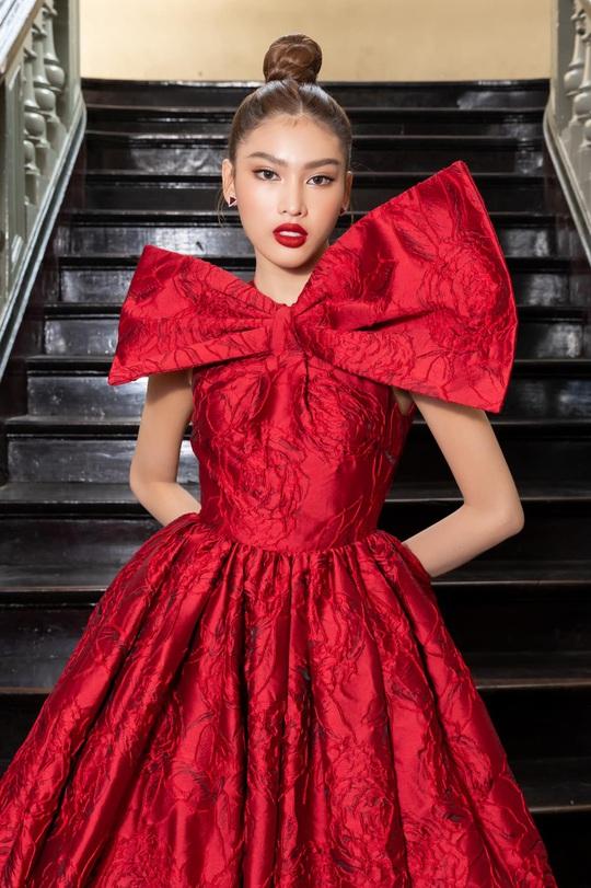 Cận cảnh nhan sắc Á hậu Ngọc Thảo - đại diện Việt Nam thi Miss Grand International - Ảnh 2.