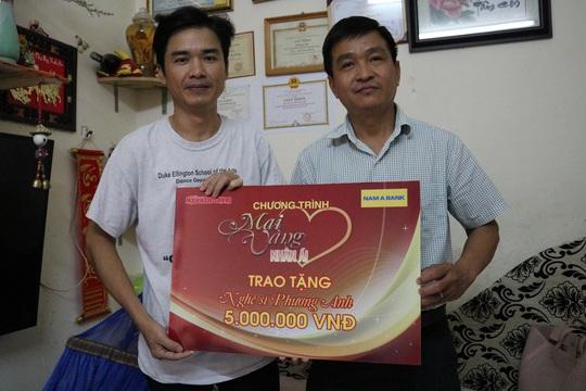 Mai Vàng nhân ái thăm nghệ nhân Ngô Minh Phú và NS Phương Anh - Ảnh 6.