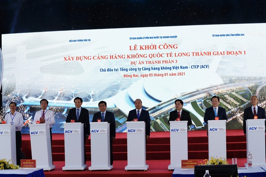 Thủ tướng vừa bấm nút khởi công xây dựng sân bay quốc tế Long Thành - Ảnh 4.