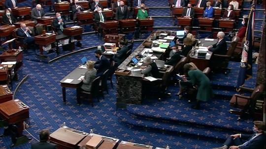 Mỹ: Hậu bạo loạn, Quốc hội muốn dứt điểm sớm - Ảnh 1.
