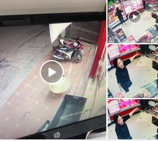 Truy xuất camera, xử phạt 1 phụ nữ không đeo khẩu trang, ném đồ dùng sát khuẩn của cửa hàng Vinmart+ - Ảnh 1.
