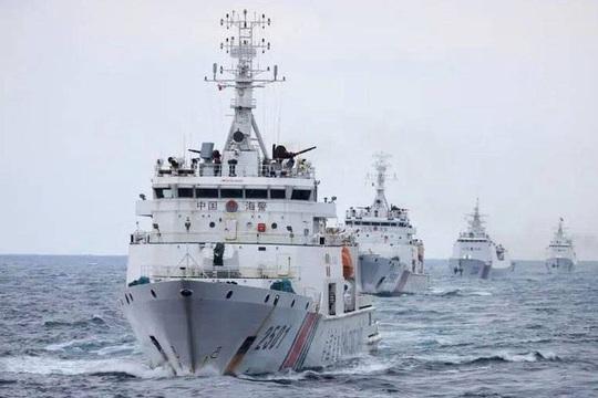 Mỹ lên tiếng về luật hải cảnh Trung Quốc ở biển Đông - Ảnh 1.