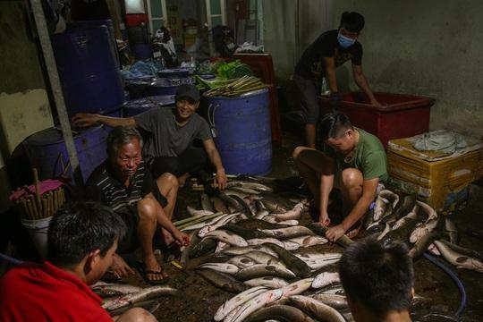 Nướng cá lóc xuyên đêm cho ngày vía Thần Tài tại TP HCM - Ảnh 6.