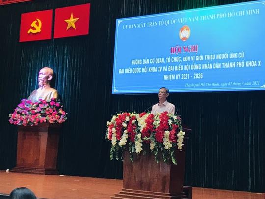 Người ứng cử đại biểu Quốc hội phải ghi rõ chỉ có một quốc tịch là quốc tịch Việt Nam - Ảnh 2.