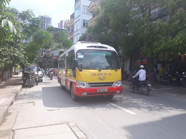 Xe buýt nhỏ chạy như taxi có giảm kẹt xe?