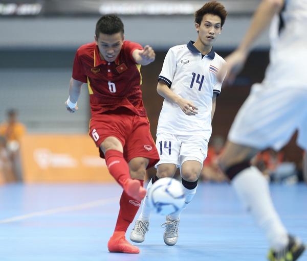 Vẫn thua futsal Thái Lan một bậc